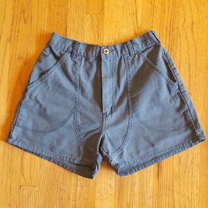 Vintage 80s High Waisted Hiking Shorts